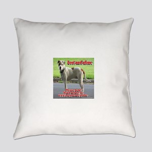 Lost and alone Everyday Pillow