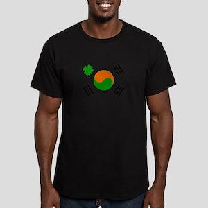 Irish/Korean Korean/Irish Men's Fitted T-Shirt (da