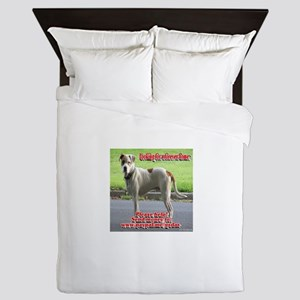 Looking for a forever home Queen Duvet