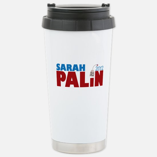 Sarah Palin 2012 Tea Party Stainless Steel Travel