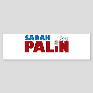 Sarah Palin 2012 Tea Party Sticker (Bumper)