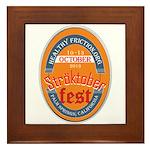StroktoberFest Framed Tile