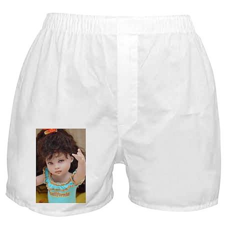 """ Angel "" Riley Doll Repaint Boxer Shorts"