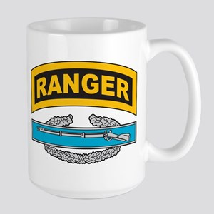 CIB with Ranger Tab Large Mug