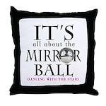 Dwts Mirror Ball Throw Pillow