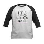 DWTS Mirror Ball Kids Baseball Jersey