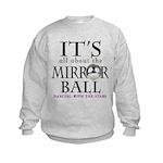 DWTS Mirror Ball Kids Sweatshirt