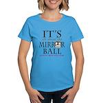 DWTS Mirrorball Women's Dark T-Shirt