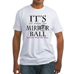 DWTS Mirror Ball Fitted T-Shirt