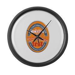 StroktoberFest Large Wall Clock