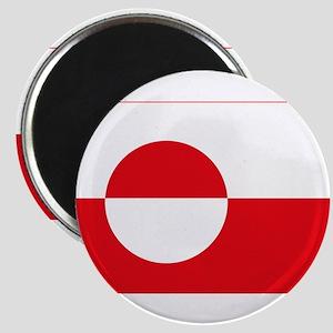 """Greenland Flag 2.25"""" Magnet (10 pack)"""