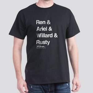 Footloose Character Names Dark T-Shirt
