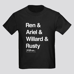 Footloose Character Names Kids Dark T-Shirt