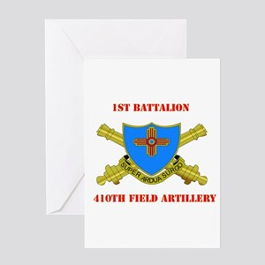 1st Battalion - 410th Field Artillery with Text Gr