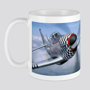 P-51 Mustang Coming at You Mug