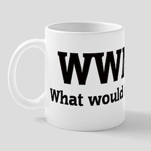 What would Mandy do? Mug