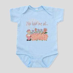 You Had Me At Survivor Infant Bodysuit