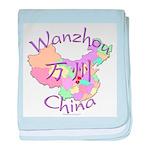 Wanzhou China baby blanket