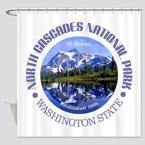 North Cascades NP Shower Curtain