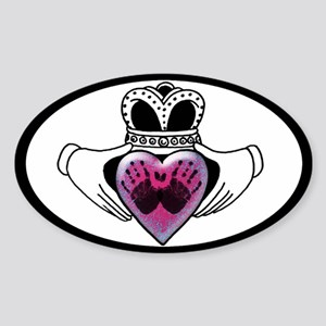 SIDS/Crib Death Sticker (Oval)