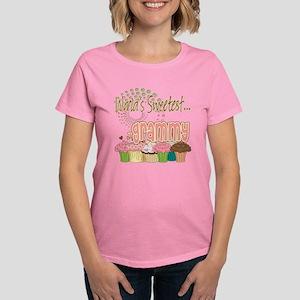 World's Sweetest Grammy Women's Dark T-Shirt