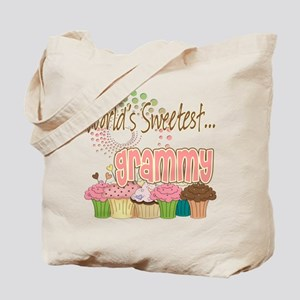 World's Sweetest Grammy Tote Bag