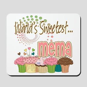World's Sweetest Mema Mousepad
