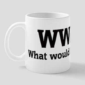 What would Lindsay do? Mug