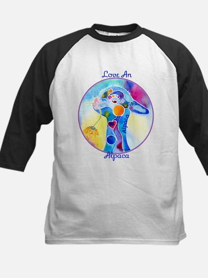 Love an Alpaca T Shirt Kids Baseball Jersey