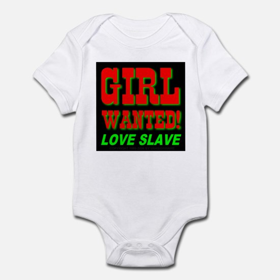 Girl Wanted Love Slave Infant Creeper