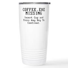 Coffee Stainless Steel Travel Mug