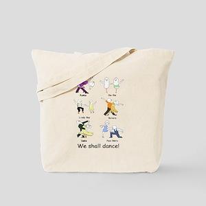 Ballroom Dancers Tote Bag