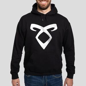 Angelic Power Rune - Hoodie (dark)