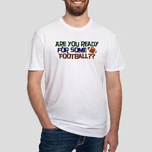 Football Season Fitted T-Shirt