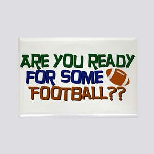 Football Season Rectangle Magnet