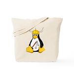 Tux the Viking Penguin Tote Bag