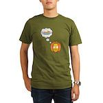 Pumpkin Dreams Organic Men's T-Shirt (dark)