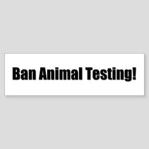 Ban Animal Testing!