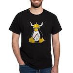 Tux the Viking Penguin Dark T-Shirt