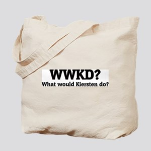 What would Kiersten do? Tote Bag