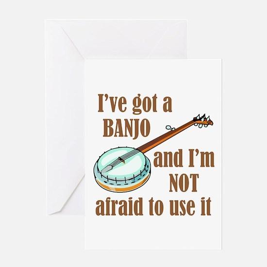 I've Got a Banjo Greeting Card