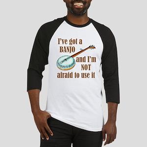 I've Got a Banjo Baseball Jersey
