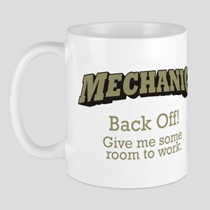 Mechanic - Back Off Mug