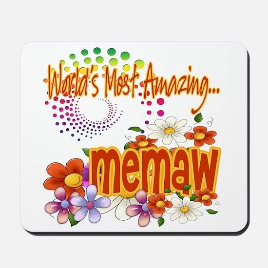 Most Amazing Memaw Mousepad