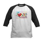 Only Love Prevails Kids Baseball Jersey