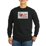Only Love Prevails Long Sleeve Dark T-Shirt