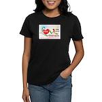 Only Love Prevails Women's Dark T-Shirt