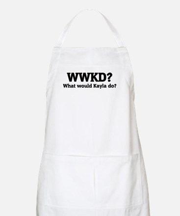 What would Kayla do? BBQ Apron
