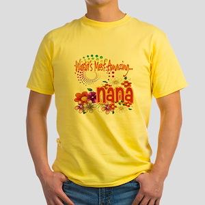 Most Amazing Nana Yellow T-Shirt