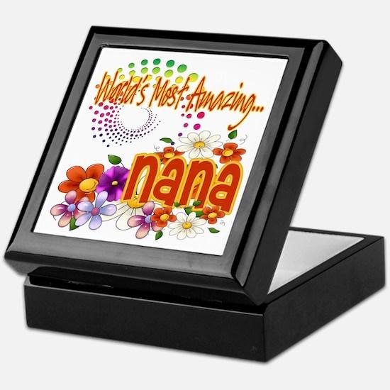 Most Amazing Nana Keepsake Box